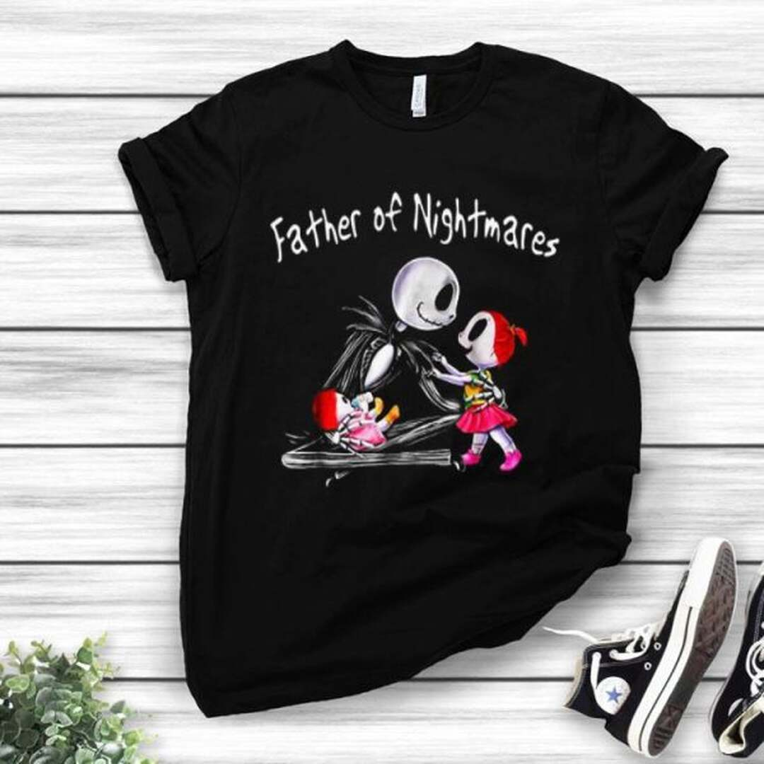 Halloween Father Of Nightmares Father And Daughter Shirt