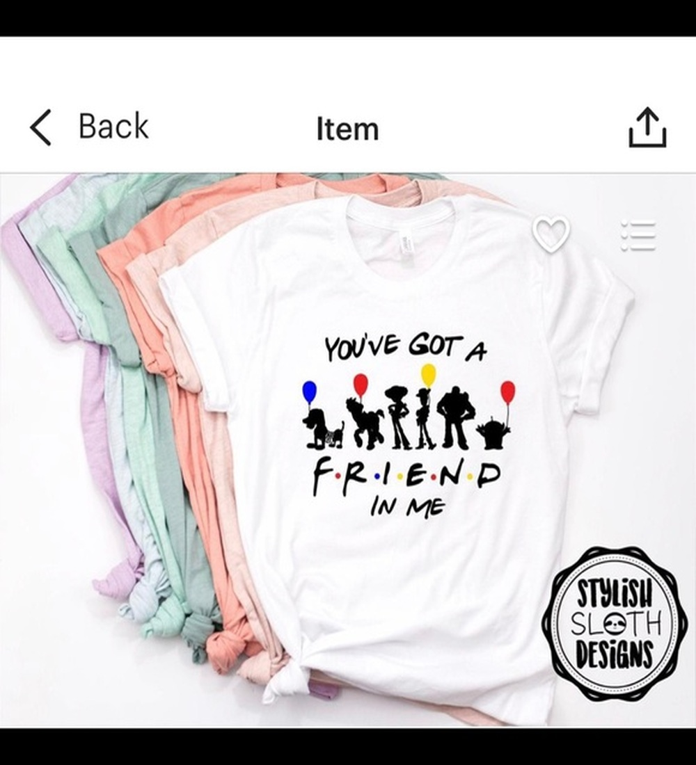 """""""You've Got A Friend In Me"""" Toy Story T Shirt"""